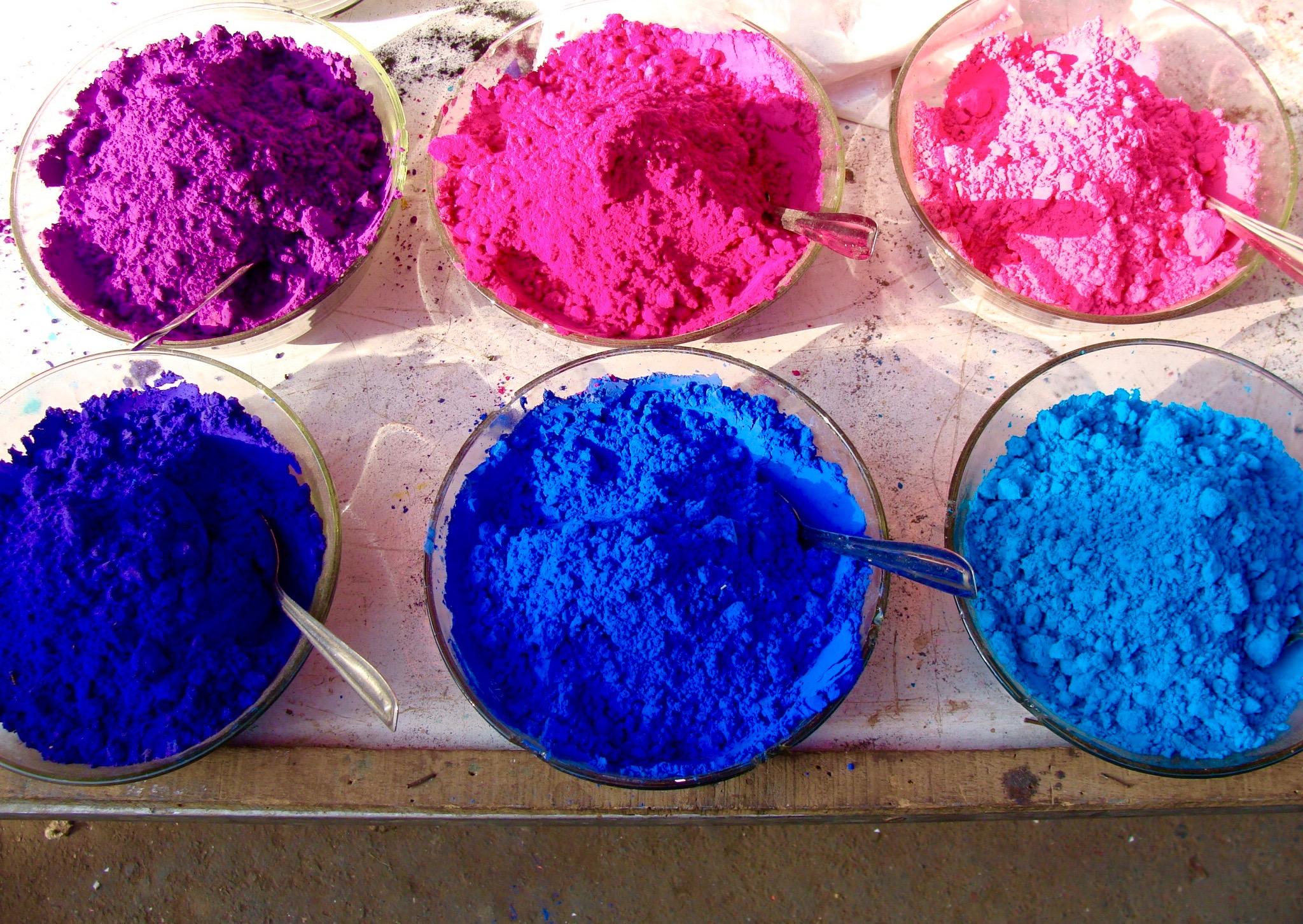 kemialliset värit